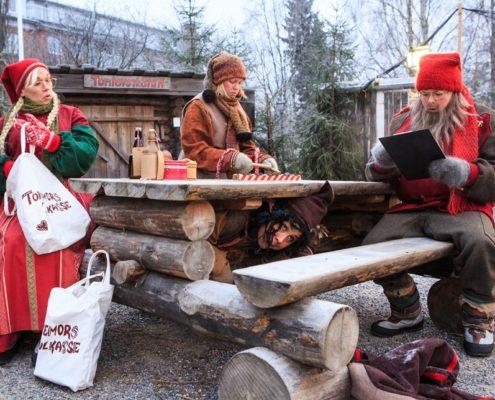 Dåndimpen, Julkalendern i Stadsparken