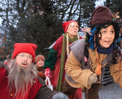 Julkalendern i Stadsparken