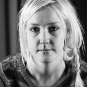 Manusförfattaren Johanna Emanuelsson