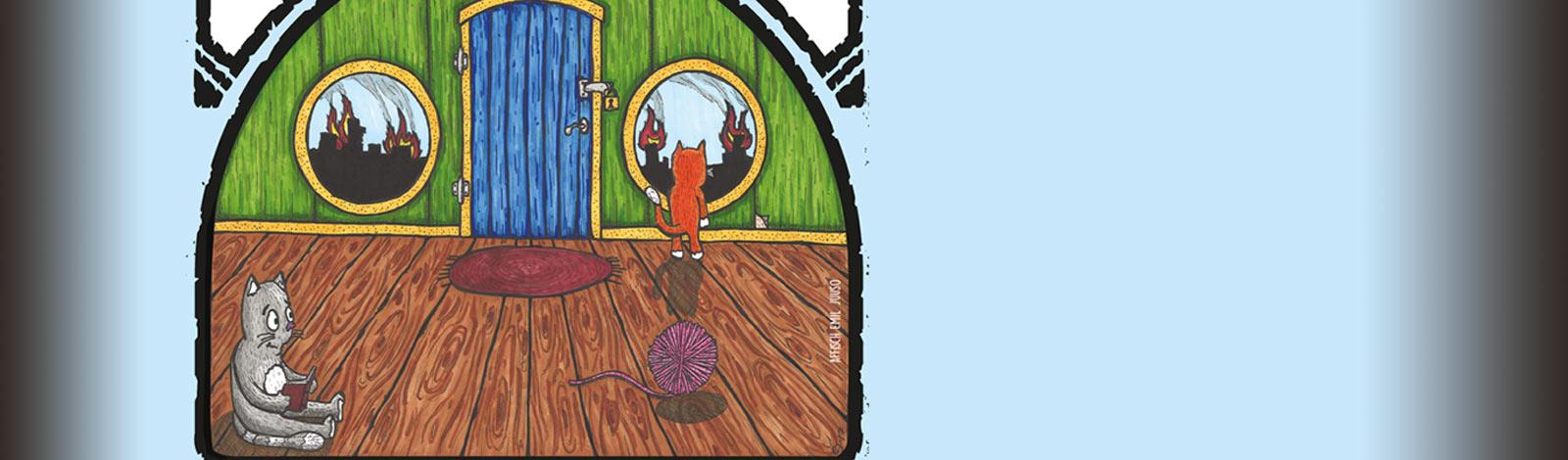 Illustration Gränskatten