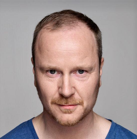 Pelle Hanæus, regissör. Ny medarbetare under 2018