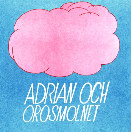 Adrian och orosmolnets affisch